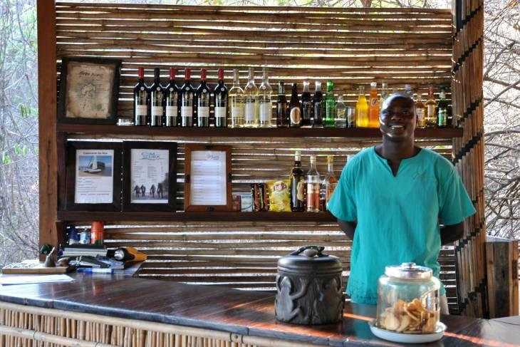 Bar in de lodge