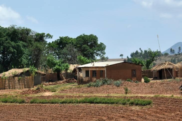 Dorpje in Malawi.