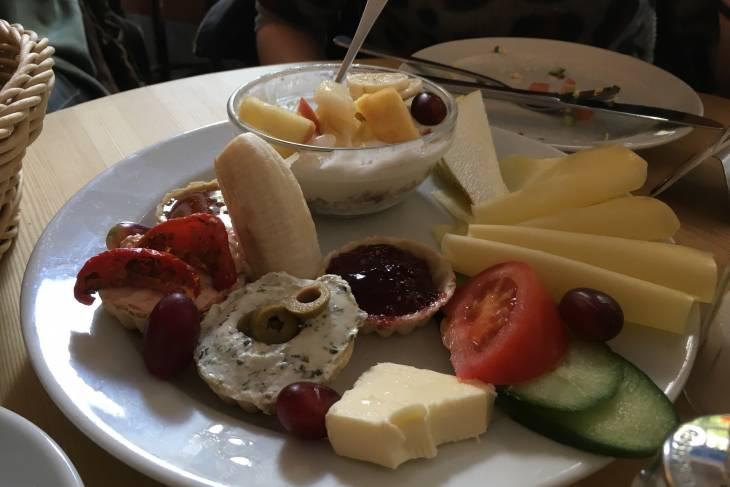 Ontbijt bij Fleury in Berlijn