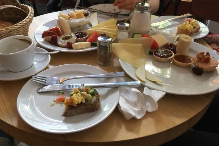 Ontbijten bij Fleury in Berlijn