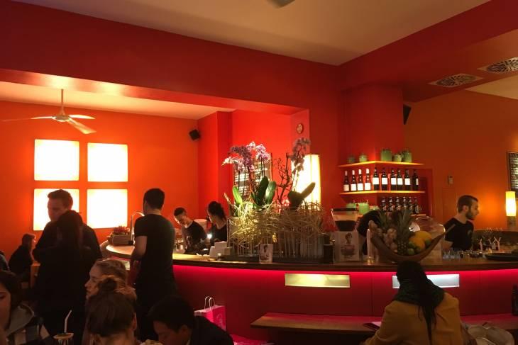 Eten in Berlijn bij Monsieur Vuong