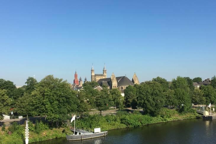 Skyline Maastricht.