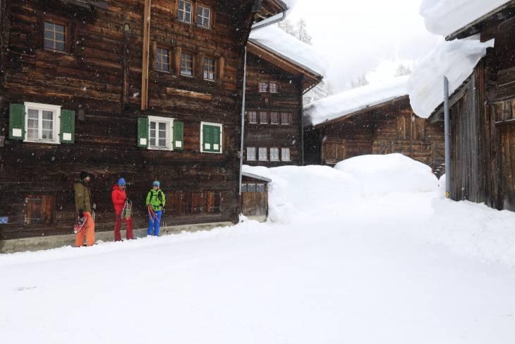 Zwitserland sneeuwschoenwandelen Bert Romani RonReizen