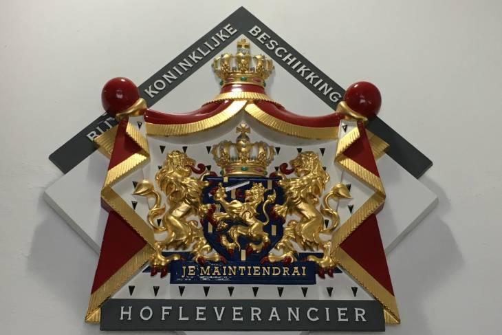 Hofleverancier Thiessen.