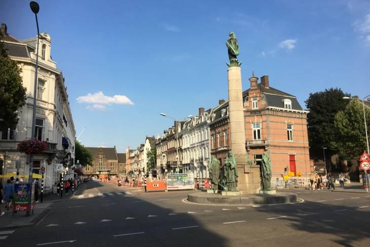 Stationsstraat Maastricht.
