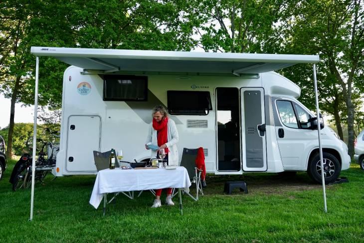 Nederland camper De Camper Club RonReizen diner