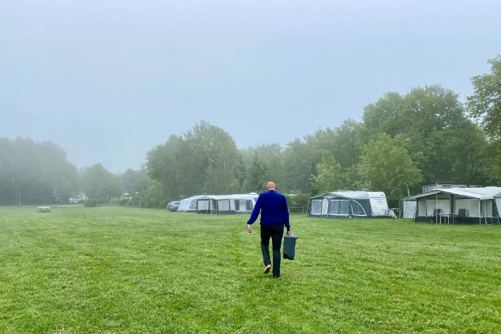 Nederland camper De Camper Club RonReizen toilet legen