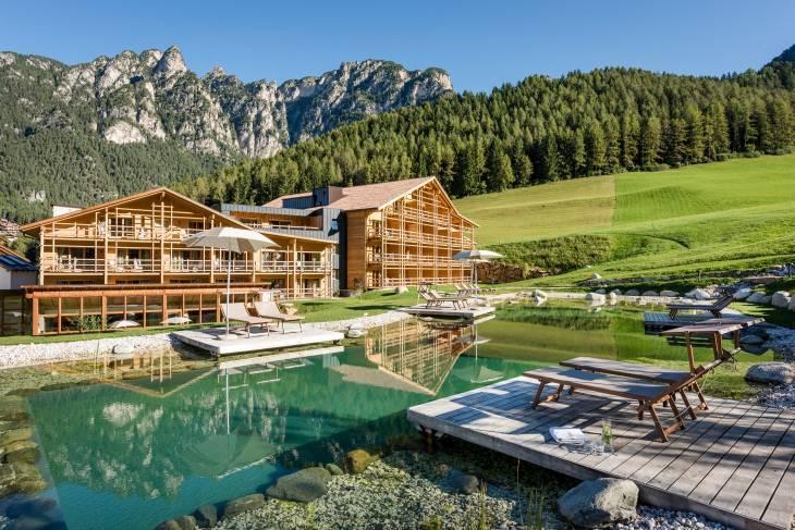 Italië Dolomieten zomervakantie RonReizen Hotel Cyprianerhof