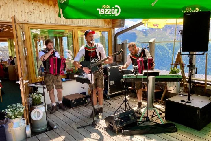 Oostenrijk Culinaire Jacobsweg Ischgl RonReizen bandje