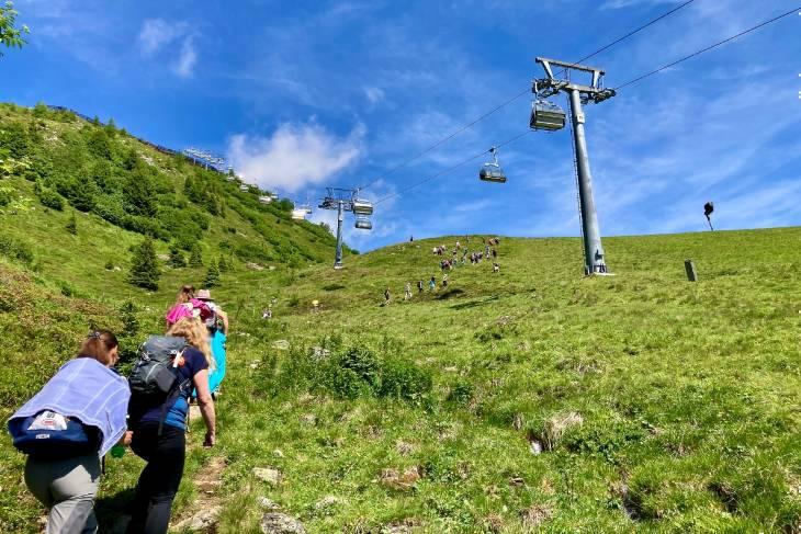 Oostenrijk Culinaire Jacobsweg Ischgl RonReizen alpenweide