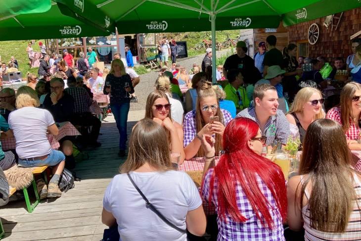 Oostenrijk Culinaire Jacobsweg Ischgl RonReizen hut