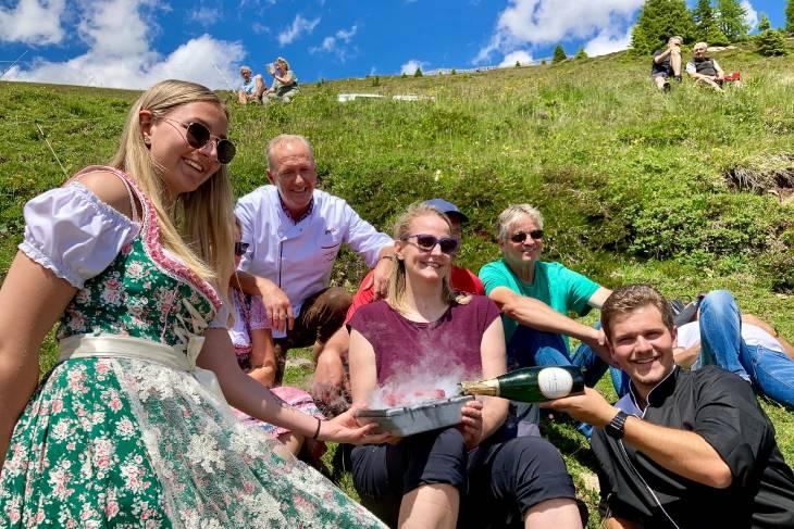 Oostenrijk Culinaire Jacobsweg Ischgl RonReizen familie Sieberer
