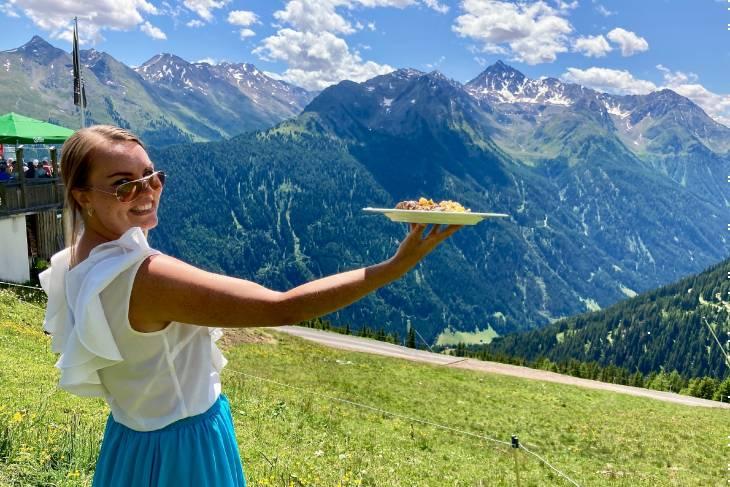 Oostenrijk Culinaire Jacobsweg Ischgl RonReizen Naomi