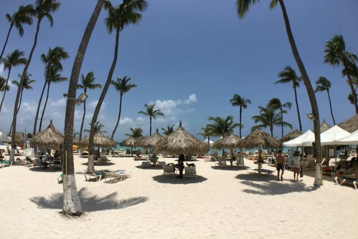 Witte stranden.