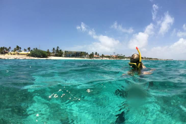 Snorkelen.