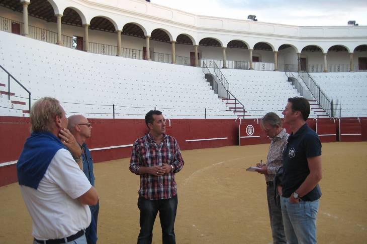 Stasgids San Roque in de culturele arena.
