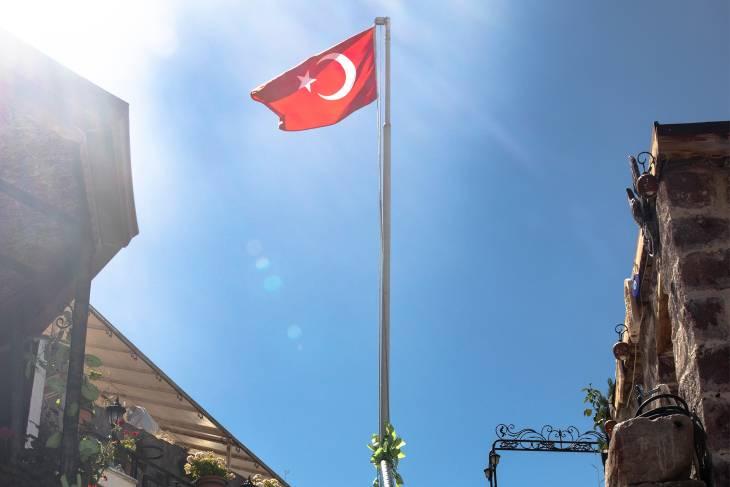 Turkse vlag.