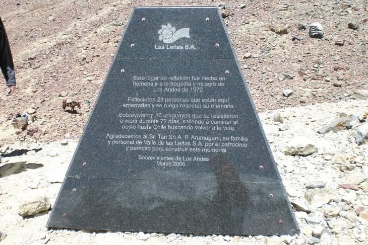 Monument op rampplek