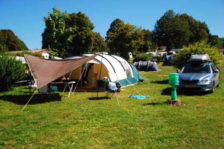 Camping La Grisiere in de Jura.