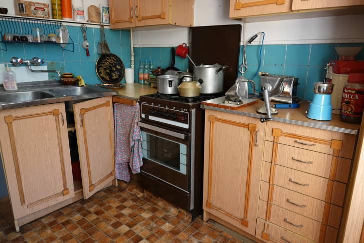 Een keukentje uit lang vervlogen tijden.