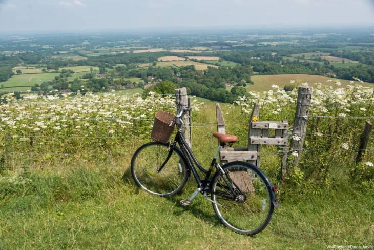 Geniet je suf op de vele fietsroutes in Engeland.