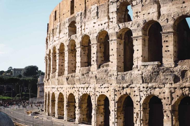 Misschien wel het meest iconische gebouw ter wereld: het Colosseum.