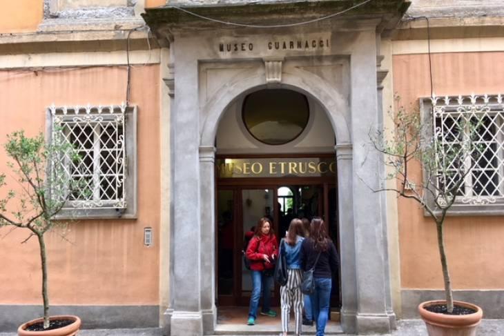Museum Etrusco Guarnacci RonReizen