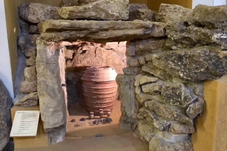 Graftombe Etruskisch museum. RonReizen