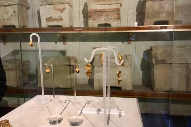 Etruskische sieraden. RonReizen