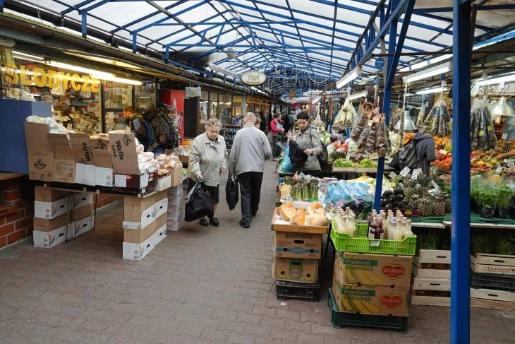 Lokale markt: Stary Kleparz.