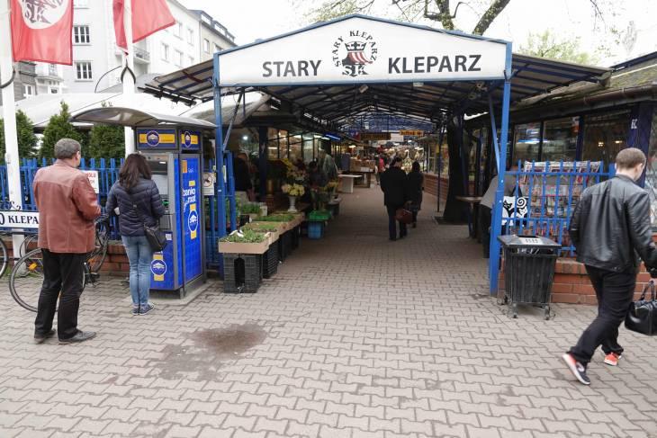 Leuke lokale markt: Stary Kleparz.