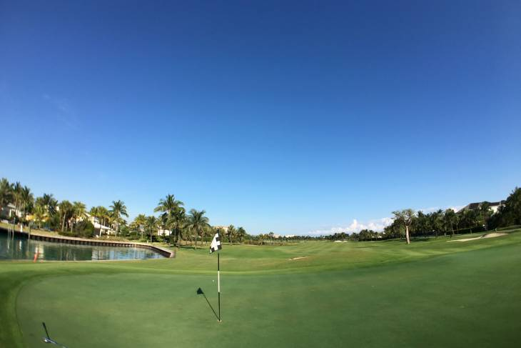 Caribisch golfen op The Ocean Club.