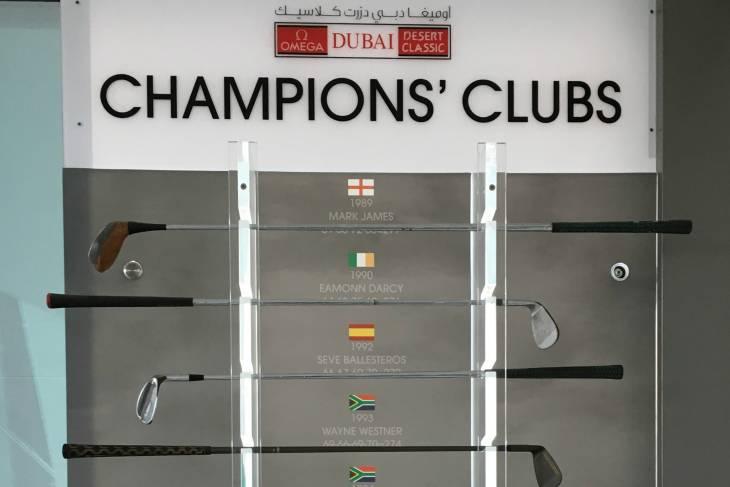 Winnaars van de Desert Classic doneerden een club...