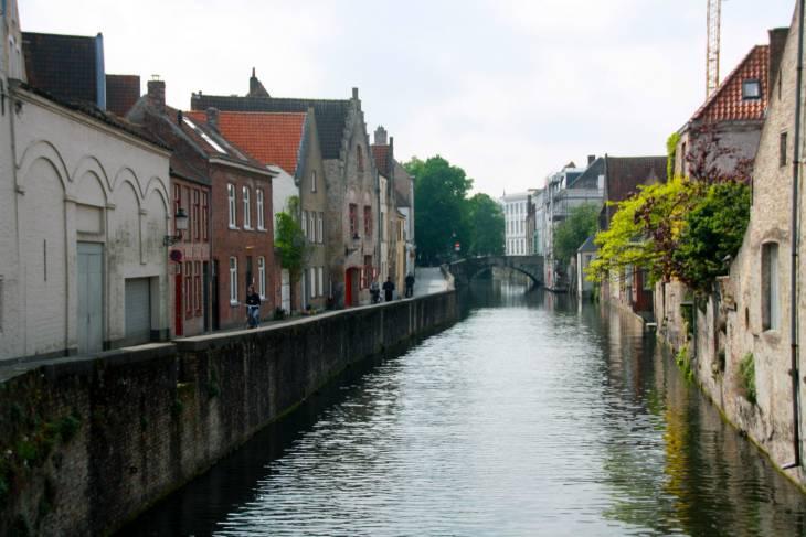 Brugge is een leuke stad.