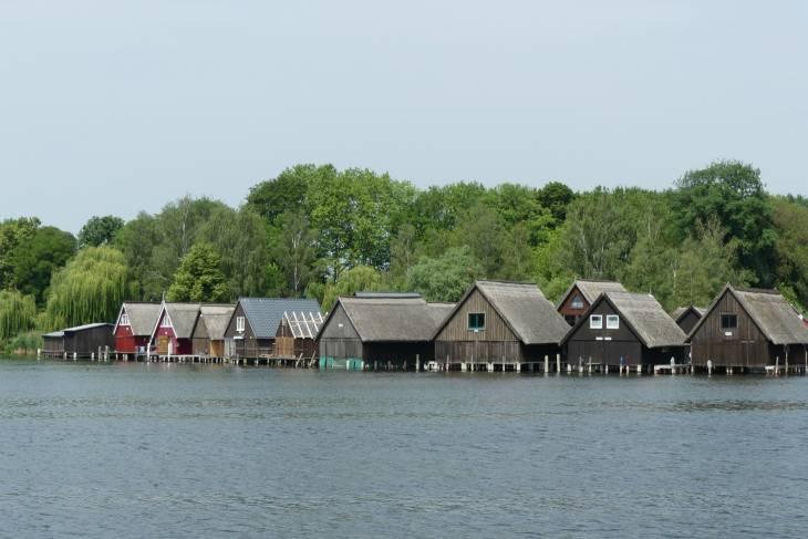 De botenhuizen van Röbel
