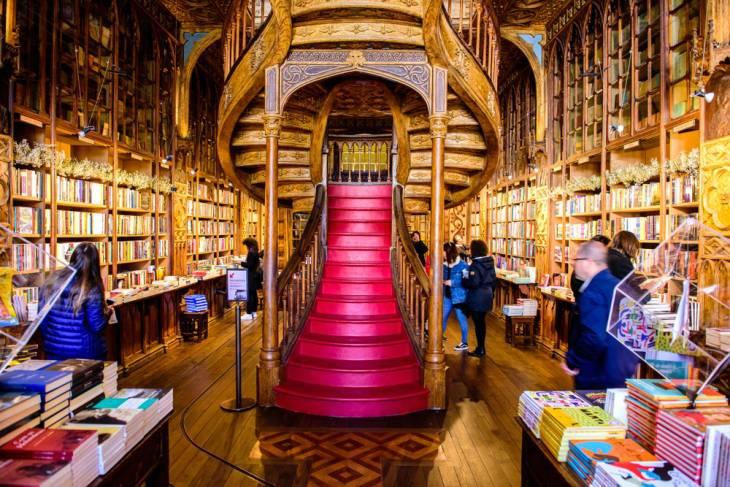 Beroemde boekwinkel Lello
