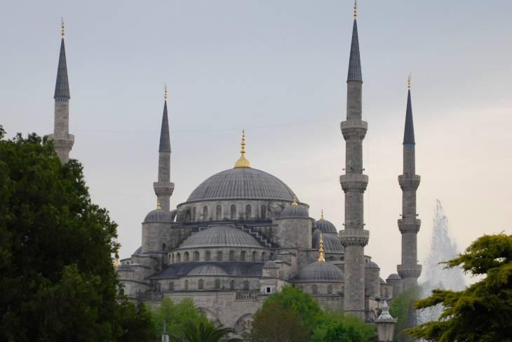 De Blauwe Moskee.