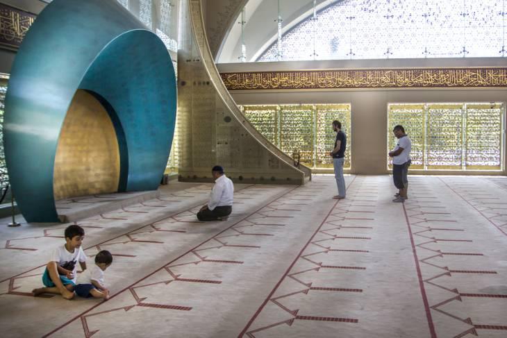 Modern: Moskee Sakirin
