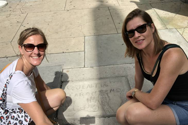 Chinese Theatre op Walk of Fame in Los Angeles - RonReizen