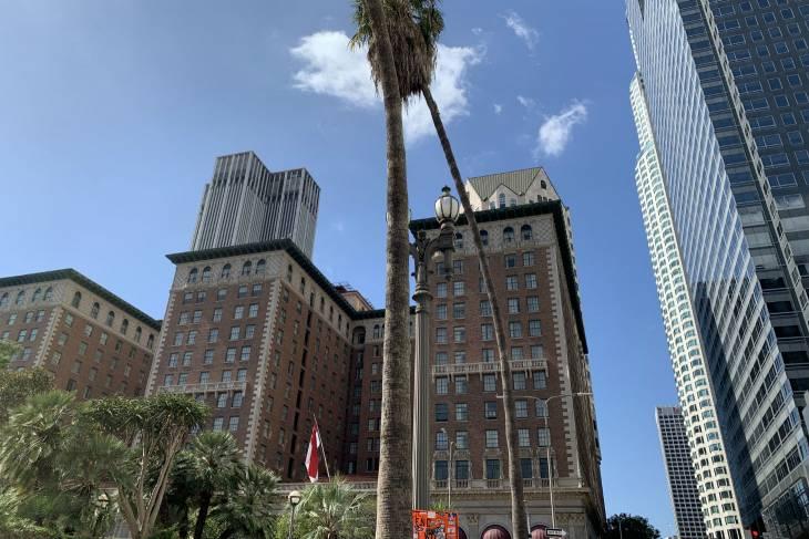 Het Millenium Biltmore Hotel in downtown Los Angeles - RonReizen