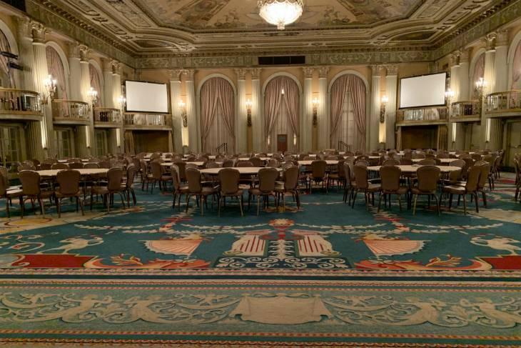 De zaal van de Oscar-uitreiking in Millenium Biltmore Hotel - RonReizen