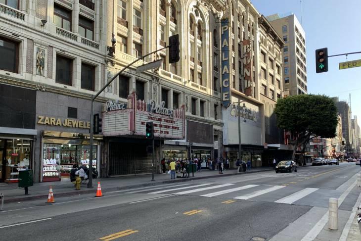 Palace Theatre in downtown LA waar de clip van Thriller is opgenomen - RonReizen