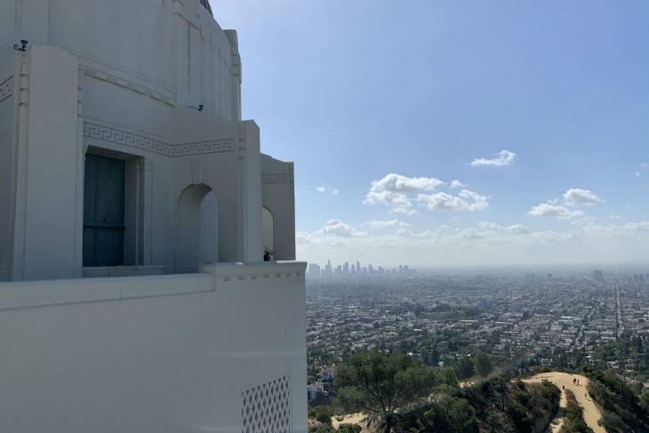 Het uitzicht vanaf Griffith Observatory in Los Angeles - RonReizen.