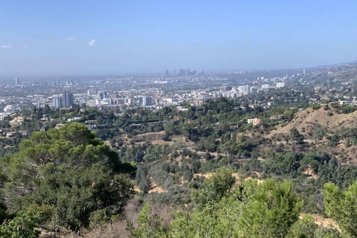 De view vanaf Griffith Observatory in Los Angeles - RonReizen