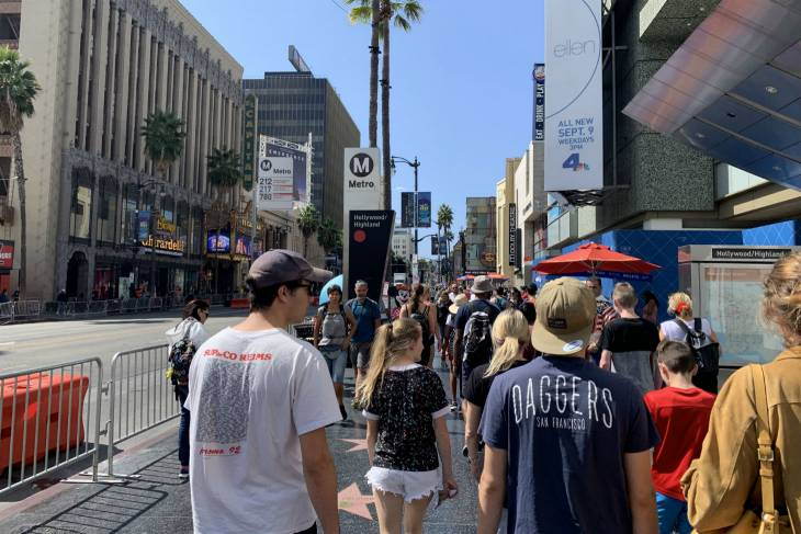 The walk of fame in Los Angeles - RonReizen