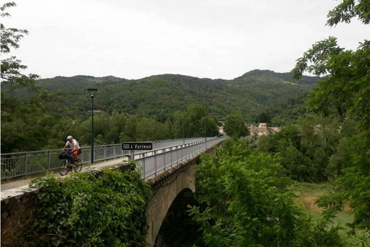 Fietstocht Ardèche viaduct - RonReizen