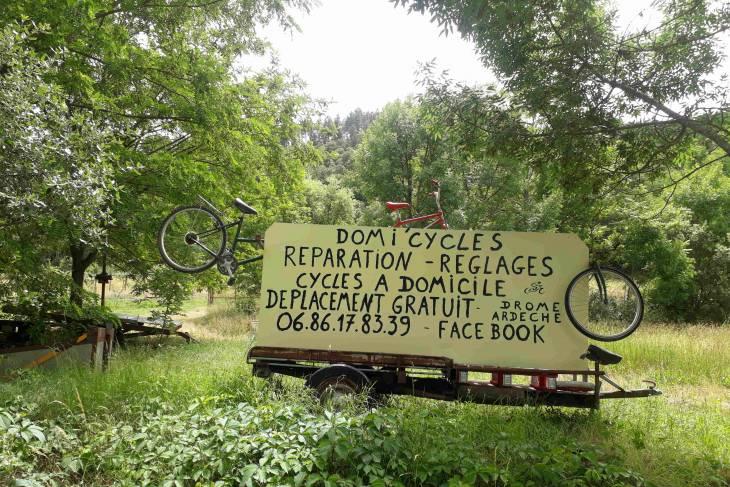 Fietstocht Ardèche fietshulp - RonReizen