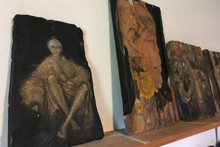 Kunstwerken van Enzo Scuderi.