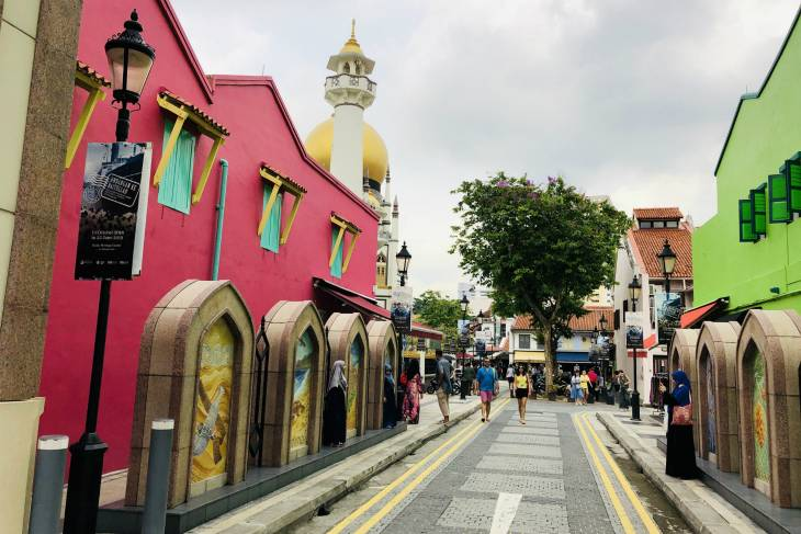 Masjid Sultan Moskee in Kampong Glam, Singapore - RonReizen