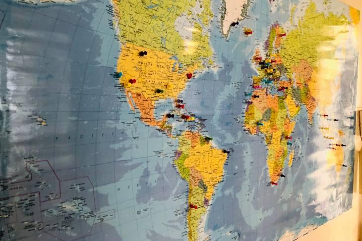 Landkaart - RonReizen